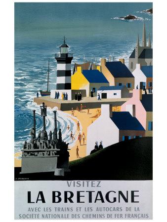 La Bretagne Giclee Print by  Jacquelin