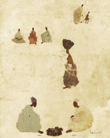 Dogon Village II Art by  Lamiel