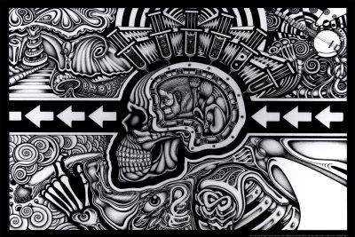 The Conscious Existence Affischer av Chris Sheehan