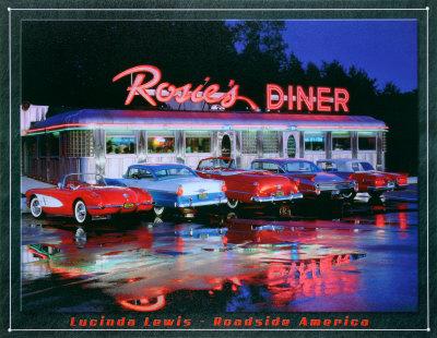 Rosie's Blikskilt af Lucinda Lewis