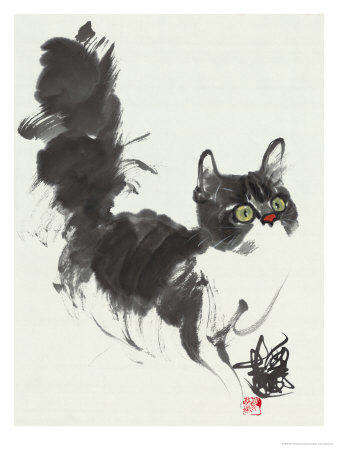 Looking out for Something Giclee Print by Wu Yanpei
