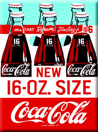 Coca Cola Bottles Tin Sign