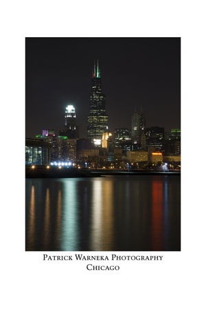 Chicago sears tower skyline Photographic Print by Patrick  J. Warneka