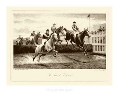 The Grand National Giclee Print by Harington Bird
