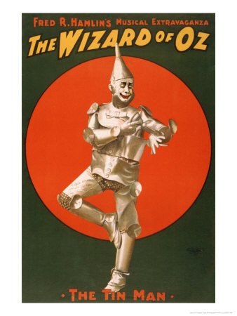 The Tin Man from The Wizard of Oz Art