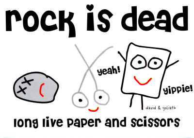 http://cache2.allpostersimages.com/p/LRG/18/1883/EWP8D00Z/posters/rock-is-dead-long-live-scissors-and-paper.jpg