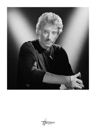 Johnny Hallyday Art Print
