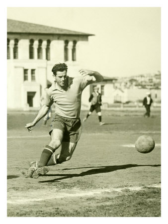 Swiss Ac Rovers Soccer Player Poster Giclee Print by Photo Archive Underwood