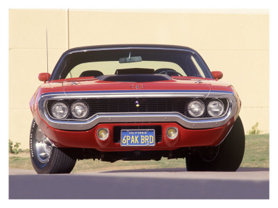 1971 Plymouth Road Runner Giclee Print by David Newhardt at ...