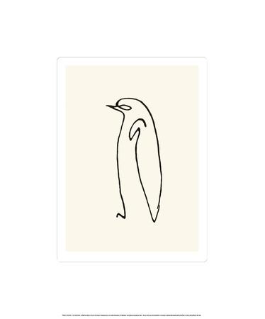 De Pinguin  Zeefdruk van Pablo Picasso
