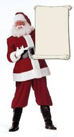 Papá Noel Figuras de cartón