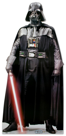 Darth Vader Star Wars Episode 4, 5, 6, IV, V, VII, Empire Strikes Back, Return of the Jedi cardboard cutout standup