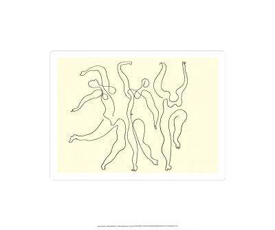 Trois Danseuses, c.1924 Serigraph by Pablo Picasso