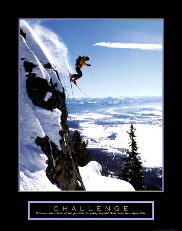 Challenge: Skier Posters