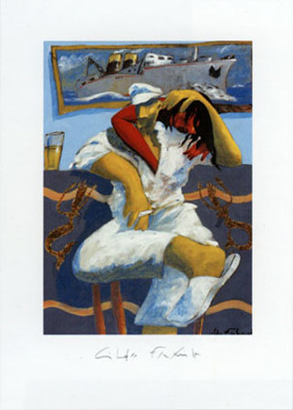 Le Couple Prints by Gildas Flahault