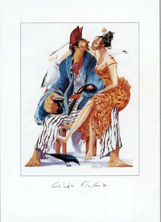 A l'Escale Amourette Prints by Gildas Flahault
