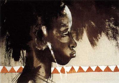 La Belle de Tambacounda Prints by Gildas Flahault