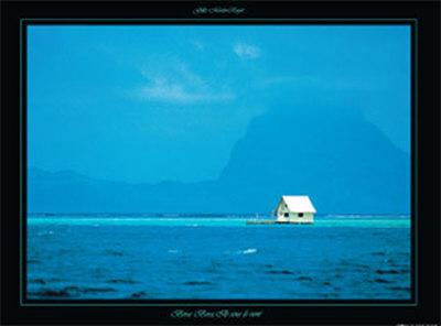 Bora Bora Prints by Gilles Martin-Raget