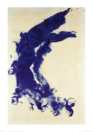 Anthropometrie (ANT 130), 1960 Art by Yves Klein