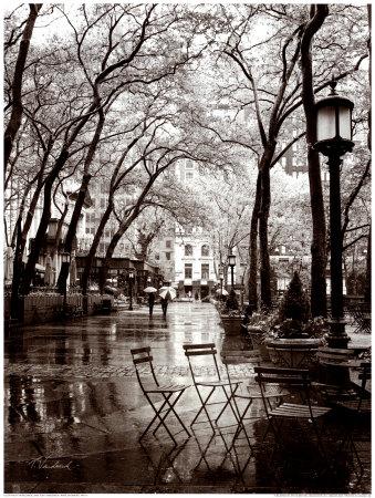 Lluvias de abril Lámina
