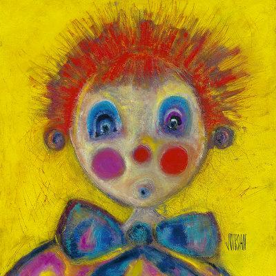 clowns dekorative kunst poster bei. Black Bedroom Furniture Sets. Home Design Ideas
