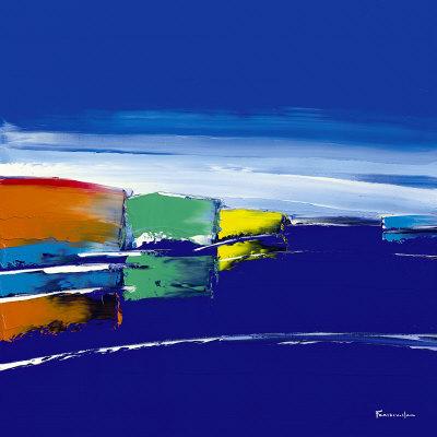 Bleu Marine Poster by Guy Fontdeville