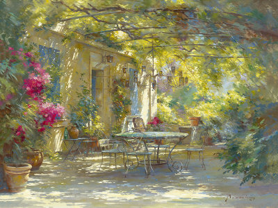 Ambiance d'Ete Print by Johan Messely