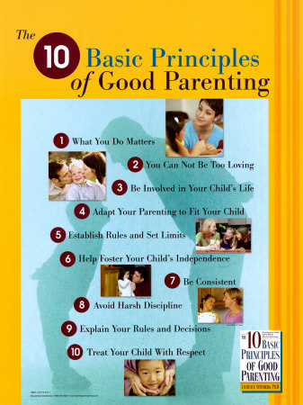 10 Principles Of Parenting Photo