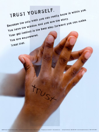 Trust Laminated Poster