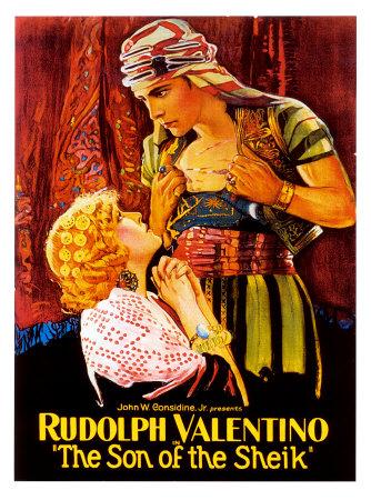 Rudolph Valentino Masterprint