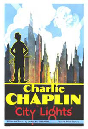 city lights. City Lights, Charlie Chaplin