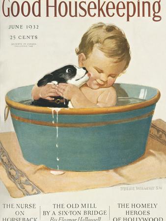 Good Housekeeping, June, 1932 Poster