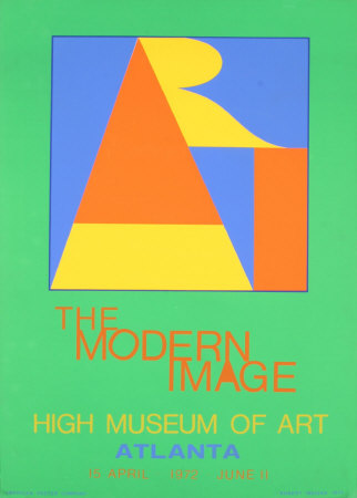 Atlanta-ART, 1972 Serigraph