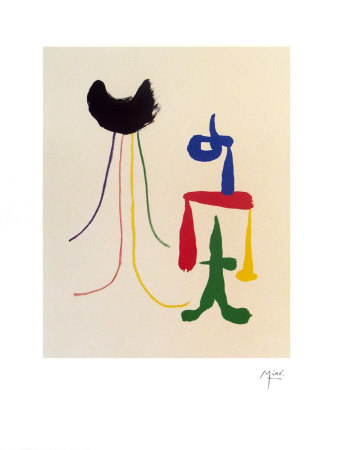 Illustrated Poems-Parler Seul Posters by Joan Miró