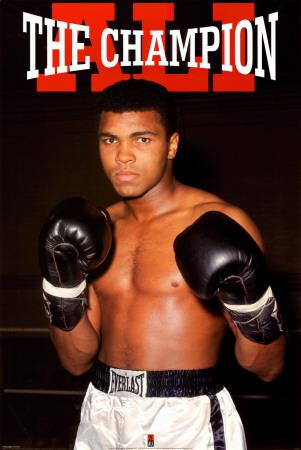 Muhammad Ali- The Champion Print