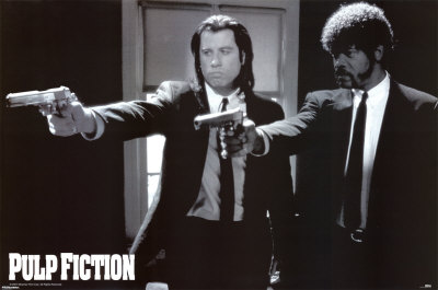 Pulp Fiction, film de Quentin Tarantino, 1994 Affiche