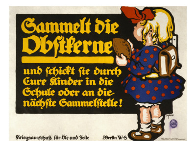 War Commission for Oils and Fats, circa 1916 Konsttryck