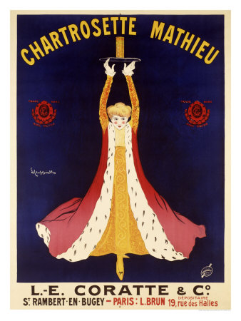 Chartrosette Mathieu Giclee Print by Leonetto Cappiello