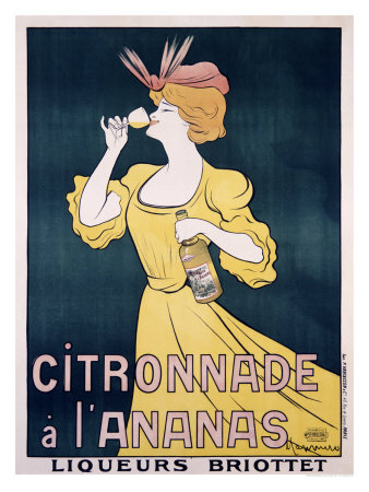 Citronnade Pineapple Drink Giclee Print by Leonetto Cappiello