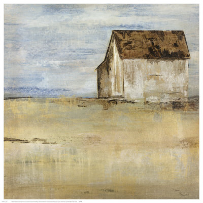 Barn and Field I Art by  Dysart