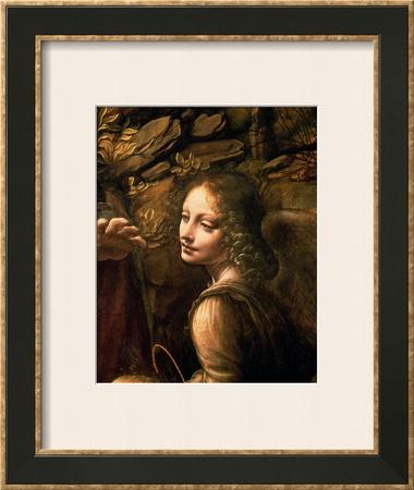 The Virgin of the Rocks (The Virgin with the Infant St. John Adoring the Infant Christ) Prints by  Leonardo da Vinci