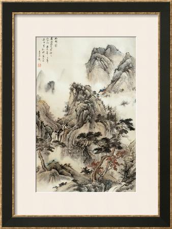 Beyond the Village Poster by Yongsun Huang