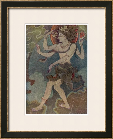 Shiva as Nataraja Prints by Khitindra Nath Mazumdar