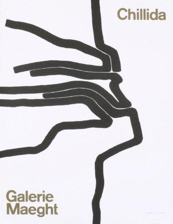 Exhibit at Galerie Maeght Prints by Eduardo Chillida