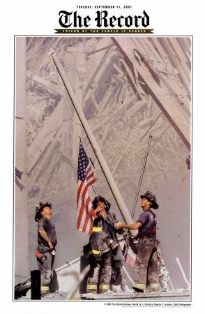 Ground Zero, NYFD Art Print