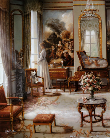 Dama victoriana II Lámina