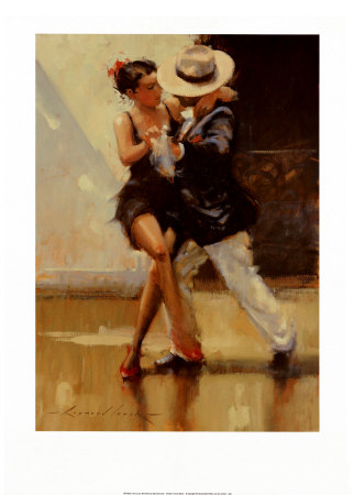 Put on Your Red Shoes Art by Raymond Leech