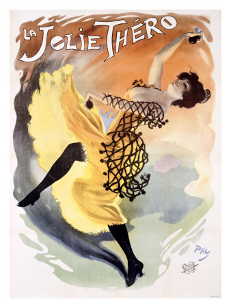 La Jolie Thero Giclee Print by  PAL (Jean de Paleologue)