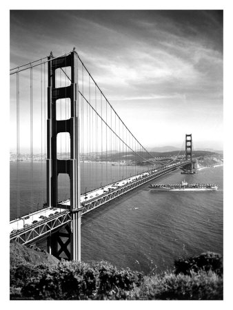San Francisco, Golden Gate Bridge, c.1937 Giclee Print