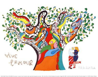 Long Live Love Prints by Niki De Saint Phalle